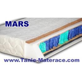 Materac Kieszeniowy MARS z matą kokosową - ZIMA-LATO