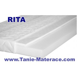Materac Piankowy RITA - z wkładem Lateksowym